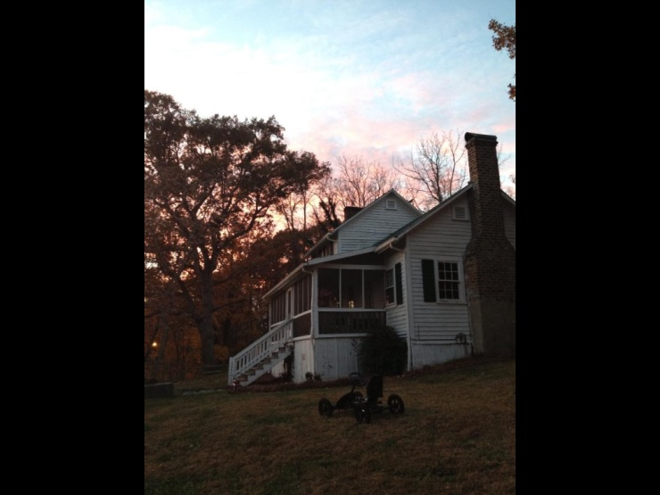 The beloved farm house