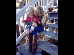 A happy memory on the front porch steps . Adah is one.
