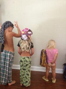 fashion show got scandalous.