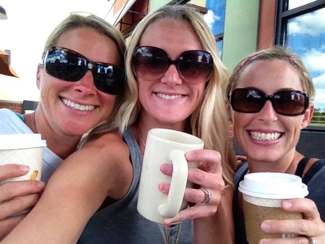 AH the bliss of friends and crack. I mean coffee.
